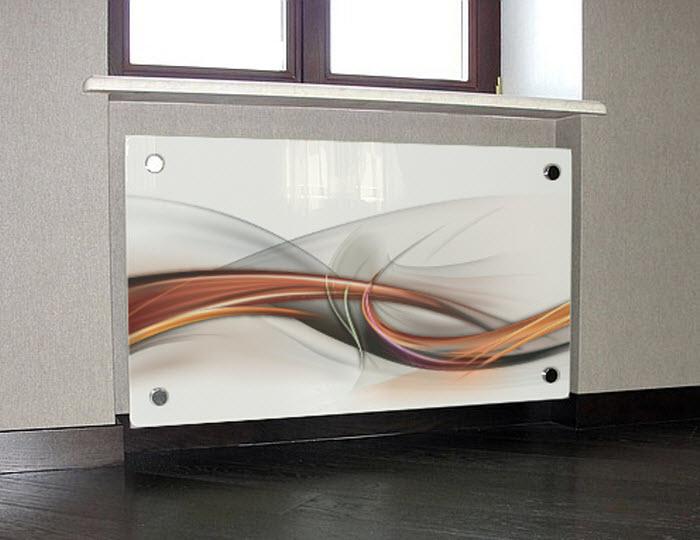 Стеклянные экраны для батарей