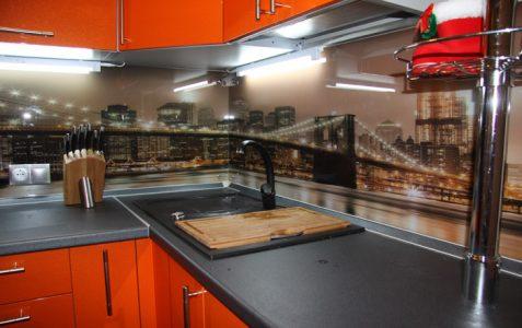 Фартук для кухни из стекла санкт петербург