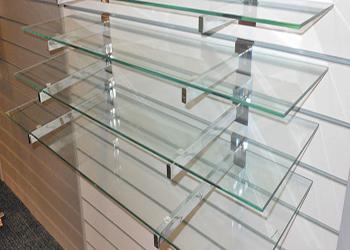 Полки из стекла